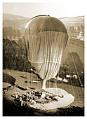Stratospheric research balloon, 1934