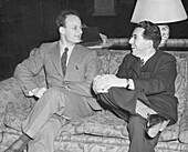 Hans Bethe and Fritz London, German-US physicists