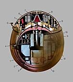 Venera 8 lander, illustration