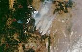 Oregon wildfires, July 2021