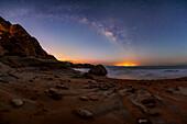 Milky Way in morning twilight
