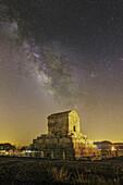 Milky Way over Tomb of Cyrus, Pasargadae, Iran