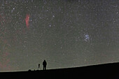 Pleiades and California Nebula