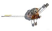 Pioneer 10 space probe, illustration