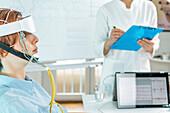 Biofeedback electroencephalograph training