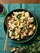Cauliflower as a vegetable side dish