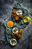 Falafel, vegan