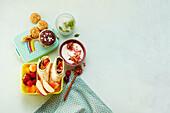 Sugar-free lunch box for children