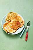 Bananen-Dinkel-Pancakes