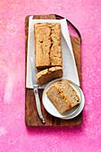 Apple and banana bread (sugar-free)