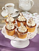 Chocolate bonbon cupcakes