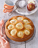 Apple pie with ginger