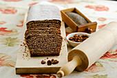Poppy seed fruit cake