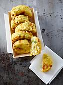 Frittatina e maccarune (macaroni omelette, Italy)