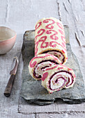 Painted sweet roll