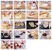 Parisian Christmas sweets with chocolate - step by step