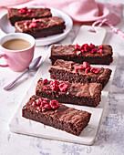 Brownies with beetroot