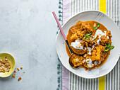 Butter Cauliflower curry, Indian cuisine