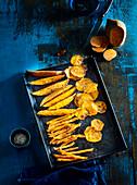 Fried batads like side dish