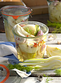 Preserved fennel with shallots