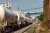 Chemical rail tank cars