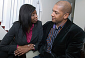 Couple awaiting for IVF consultation