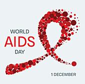 AIDS, conceptual illustration