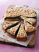 Silesian poppy seed cake with crumble