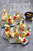 New Year's Eve canapes
