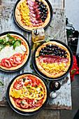 EM Pizza Variations