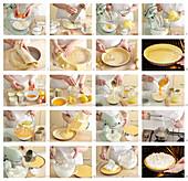 Lemon Meringue Pie - step by step