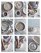Traditional sourdough bread - step by step