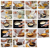 Griled cake - step by step