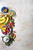 Zutaten für die afrikanisches Küche