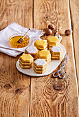 Honey comb tartlets