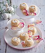 Non-baked almond balls