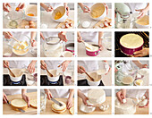 Baking Raffaello cake - step by step
