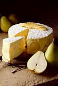 pear charlotte dessert