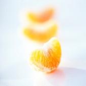 Clementinenspalten (Nahaufnahme)