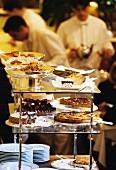 tea rooms - selection of pastries (Mariage Frères, Paris)