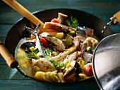 Fisherman's cooking pot