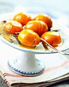 Spicy clementine soup