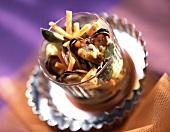 Mussels in Escabèche marinade sauce