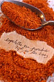 Espelette chili powder