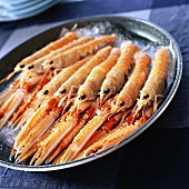 raw dublin bay prawns