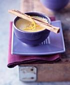 Sauterne Bachique cream custard with honey