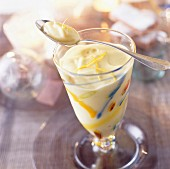 Champagne Sabayon dessert