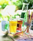 various drinks
