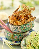 Chinese-style caramelized frog's legs