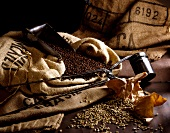 Still life of coffee